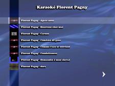 """NEW""!!! ...DVD KARAOKE FLORENT PAGNY...... (31 titres home made)"