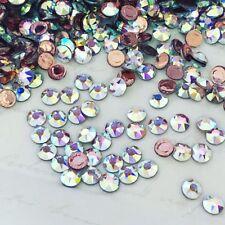 Swarovski Crystals 100 X Ss20 Clear Flatback Diamantes Rhinestones 2078 Hot Fix