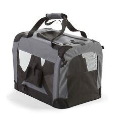 Fido & Fletch Large Size Foldable Pet Carrier 520Wx520Hx700L Ventilation Light