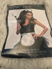 Fever Maid Instant Kit Ladies Sexy French Maid Fancy Dress Kit