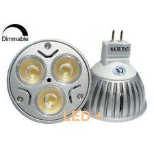 Ampoule Led 9w MR16 Gu5.3 12v Dimmable Blanc Chaud culot GU5.3