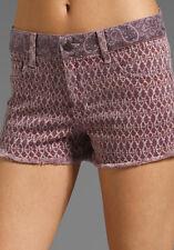 NWT   Ret. $145. Joe's Jeans Shorts  31   PLUM  Bandana Print   SOOOO CUTE!!!