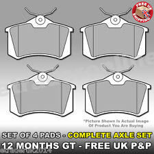 VW GOLF MK5 REAR BRAKE PADS 1.9 TDi SDi PAD SET X4 O.E Quality GENUINE UNIPART