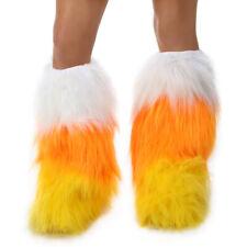 Princess Paradise Women's Candy Corn Costume Leg Warmers, Yellow/Orange/White