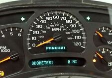 2005 Chevy Silverado Reman Instrument Panel Cluster Speedometer $50 Money Back