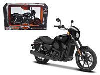 2015 Harley Davidson Street 750 Motorcycle 1:12 Diecast Model - 32333