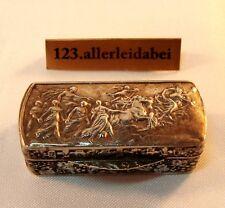 Gebrüder Kühn alte Pillendose 12 Lot Silber Dose um 1880 Behälter / AZ 053