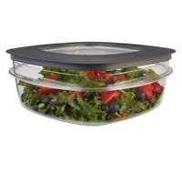 Rubbermaid Rubbermaid Premier Food Storage Container, 9 Cup, Grey
