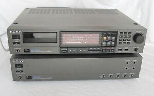 TOP SONY PCM-2500A 2500B DAT Recorder digital selten rare 240V mint