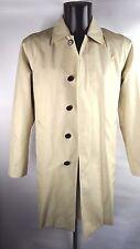 Aquascutum Shearwater trench manteau de pluie LT beige amovible laine Liner 34-36 UK