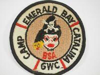 Boy Scouts America BSA Camp Emerald Bay Catalina GWC Cloth Patch