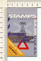 41263) AUSTRALIA 1992 MNH** QEII 45c (x10) TRAINS Booklet OVPTD Queensland