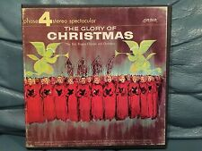 The Glory Of Cristmas Reel To Reel Tape  Ampex 4 track Stereo 7 1/2 IPS