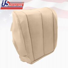 2003 Driver Bottom Leather Seat Cover Light Tan Fits Nissan Murano S SE SL Sport