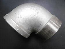 """Gewindefitting Winkel 90° Bogen Verbinder  AG+IG 4"""" NEU"""