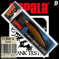 Rapala Flat Rap 8cm G Neu in Box selten, wurde eingestellt