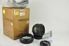 Nikon Nikkor AF-S 35mm f / 1.8 G DX OBIETTIVO per D7000 D90 D5100 D3200 5000 3100 3000