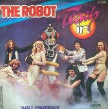 """7"""" Teach In/The Robot (NL)"""