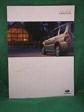 2006 Subaru Forester new vehicle brochure