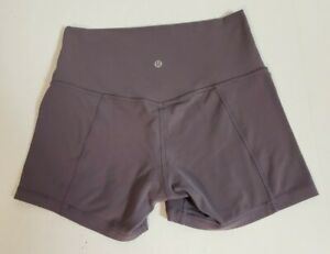 Lululemon Women's Align Violet Verbena High Rise Athletic Yoga Shorts! Size 8