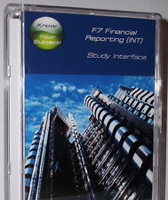 ACCA F7 Revision Software - 2019 Syllabus - Financial Reporting (INT)