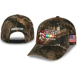 Checkered Flag Sports Kyle Busch #18 NASCAR 2021 Patriotic USA TrueTimber Hat