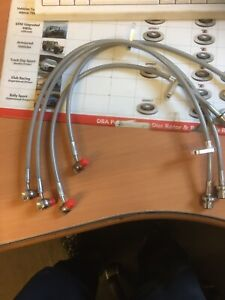 TGMSPORT Honda CiviC Type R EP3 Braided Brake Lines/hoses