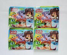 "Lot Of 4 Kids Bubble Packs ""Big A Bubbles"" Bubble Wand, Random Picks 3+, A14"