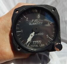 RARE! USAF  USN A-7 Corsair II Fuel Quantity Gauge Instrument Indicator, WOW!