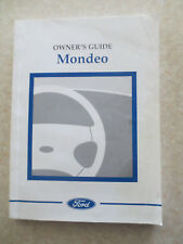 1999 Ford Mondeo owners manual - UK