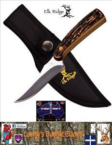 Elk Ridge Skinning knife Imitation Bone Handle