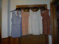 Sleeveless Blouses LC Lauren Conrad XL,M,S,Multi Color NWT