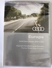 ORIGINALE AUDI DVD Europa Europe NAVIGAZIONE NAVI MMI 2g 2017 a6, a4, q7