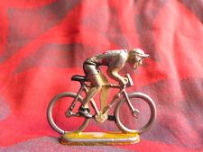 Figurine de cycliste en aluminium à identifier (Quiralu ?) - Lot 1