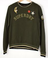 SUPERDRY Women Casual Jumper Sweater Size S UK:8 US:4 EU:36 ARZ1360