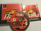 PS1 PLAYSTATION 1 PSone RACE RACING GAME RALLY CHAMPIONSHIP +BOX & INSTRUCTIONS