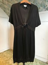 Karen Millen Women's Dress SIZE 8 Black Stretchy