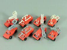 AUTOS: Feuerwehrfahrzeuge EU 1987 - beide Komplettsätze, grau und weiß
