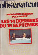 Nouvel Observateur -   N°668 Du 29-08-1977