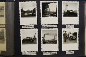 FOTOALBUM 1938 PKW TATRA 75, WIEN UNGARN PARIS BULGARIEN RUMÄNIEN, 146 x Fotos