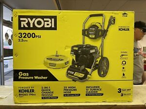Ryobi RY803265 3200 PSI 2.3 GPM Cold Water 196cc Kohler Gas Pressure Washer