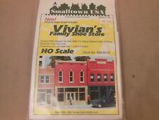 HO SCALE RIX/SMALL TOWN USA 699-6013 VIVIAN'S FAMILY SHOE STORE STRUCTURE KIT