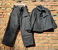 Uniform Jacket Trousers Army Tanker Tank Tankman  Size L 1970s