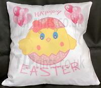 Easter Cushion, Girls First Easter Gift, Girls Cushion, Pillow Gift For Girl
