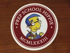 Phish Prep School Hippie Sticker -Everything's Coming Up Milhouse