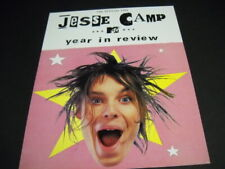 Jesse Camp two-sided 1998 Promo Poster Ad for Mtv the year in review Mint