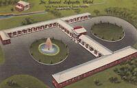 Postcard The General Lafayette Motel King of Prussia PA
