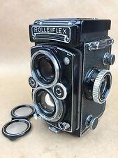 Rolleiflex 3.5E TLR 120 Film Camera with Planar Lens - Nice