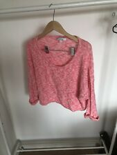 Forever New Pink Knitted Top Size l