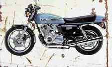 Suzuki GS1000 1978 aged vintage signe A3 grand rétro